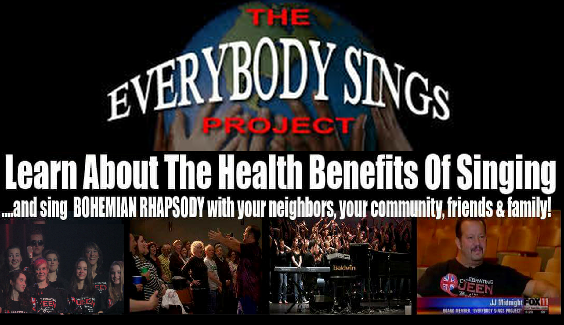 Everybody Sings Project - Health benefits